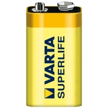 VARTA 9V Superlife baterie ; 6F22/2022