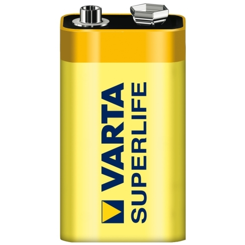 VARTA 9V Superlife baterie ; 6F22/2022