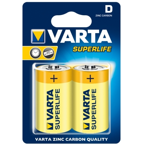 VARTA D Superlife baterie velký monočlánek ; R20/2020