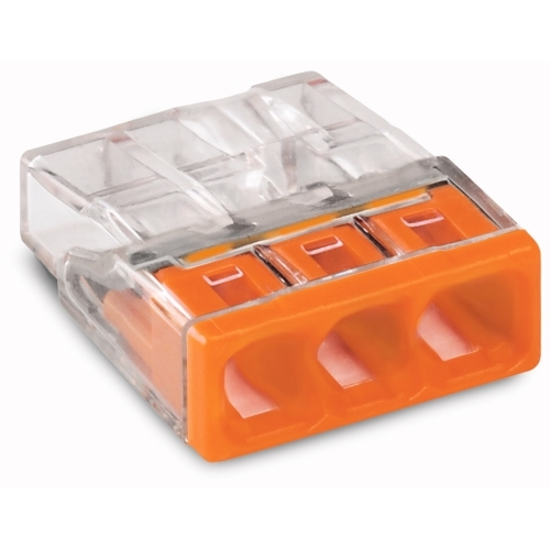WAGO 2273-203 svorka krabicova 3x0.5-2.5 mm2